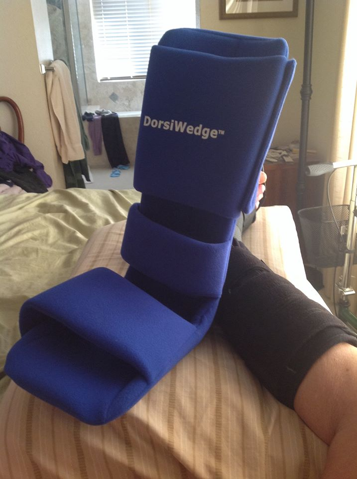 Ankle Surgery Sleeping Without Boot