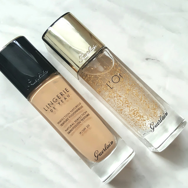5.Radiance Concentrate with Pure Gold Makeup Base - $81, canadian beauty blogger, beauty blog, toronto blogger, guerlain, relaunch of guerlain lingerie de peau, new lingerie de peau, lingerie de peau 03w, guerlain lingerie de peau review and swatch