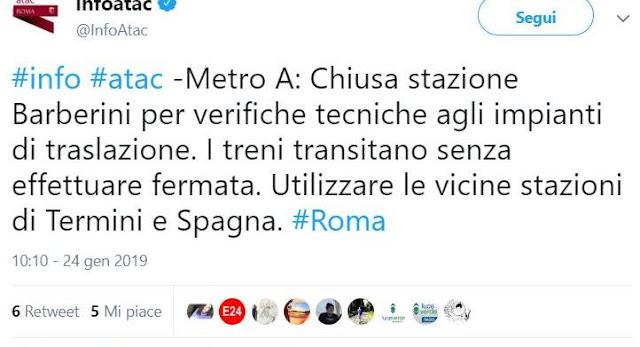 A Roma la Metro A è ancora una vergogna