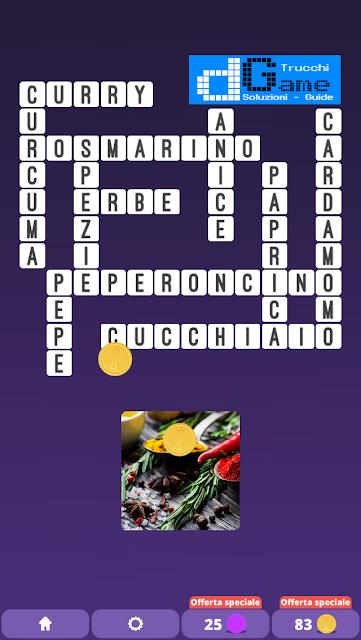 Soluzioni One Clue Crossword livello 15 schemi 8 (Cruciverba illustrato)  | Parole e foto