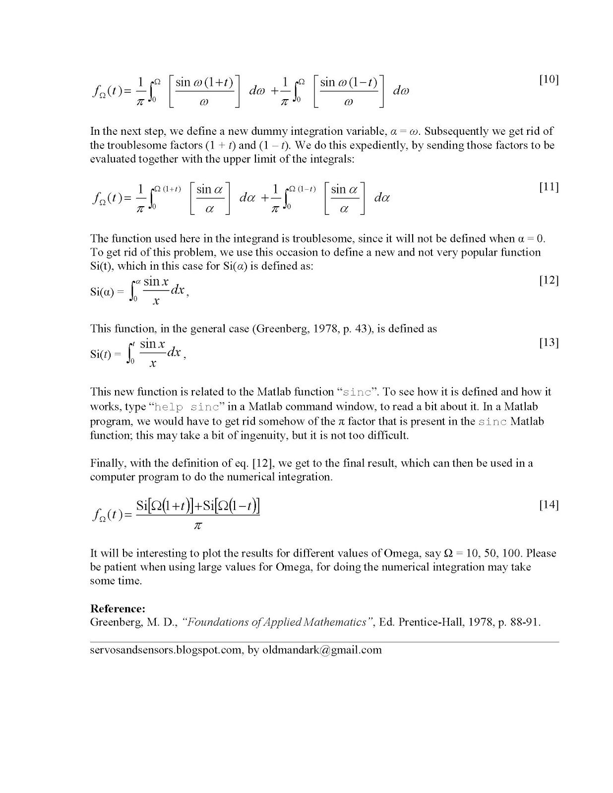 Sawtooth wave fourier series pdf