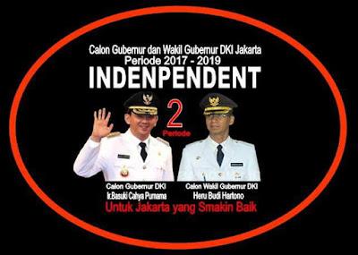 Akhirnya Ahok tetapkan Wakil Independen yang akan mendampinginya maju di pilkada DKI Jakarta