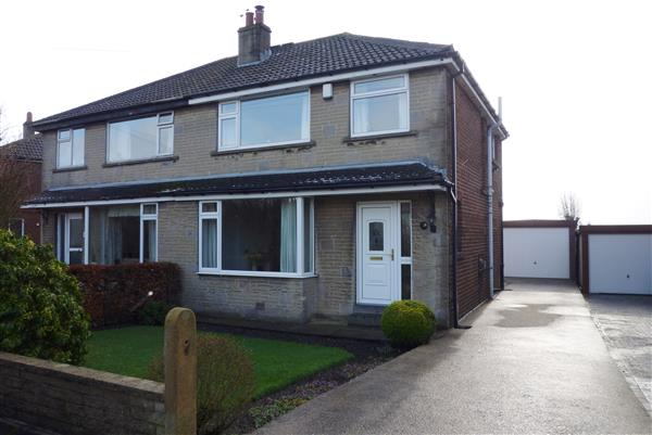This Is Huddersfield - 3 bed semi-detached house for sale Roman Avenue, Mount, Huddersfield HD3