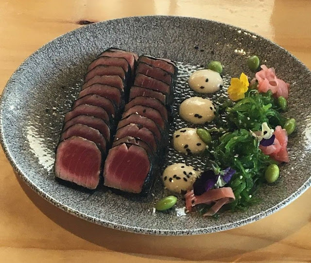 The Albion Rooftop, South Melbourne, seared nori tuna