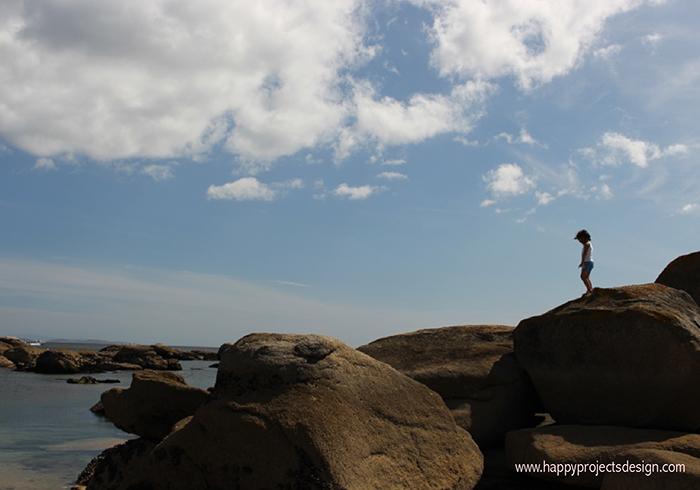 Playa Coroso en Galícia
