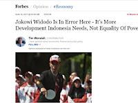 Malunya, Sampai FORBES pun Sebut Jokowi Sedang Error