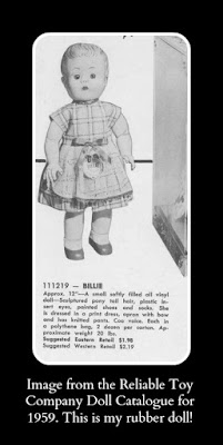 House Of Houben Memory Monday The Case Of The Rubber Doll