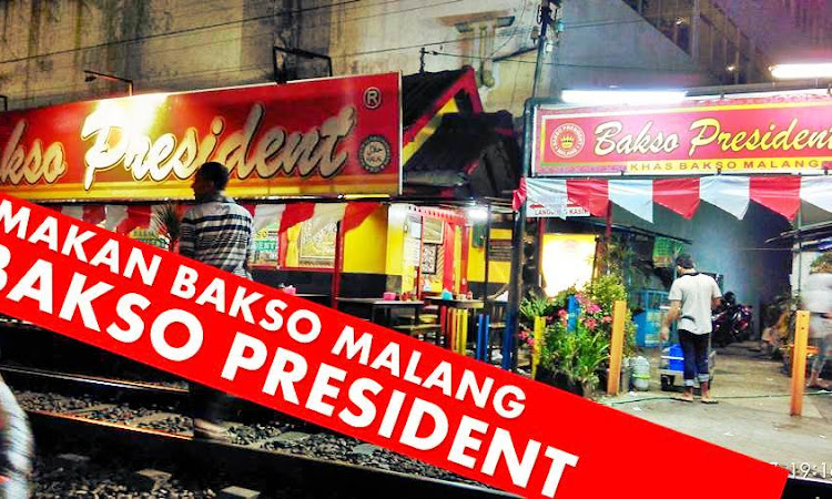 Kulineran dulu yuks di Bakso Presiden Malang