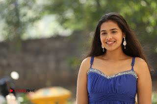 Actress Prasanna Stills in Blue Short Dress at Inkenti Nuvve Cheppu Movie Platinum Disc Function  0221.JPG