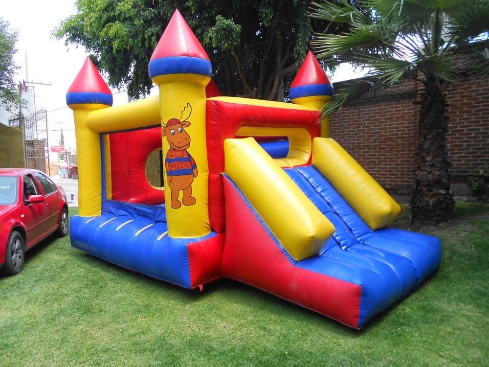 Renta de inflables infantiles en puebla juegos inflables - Castillos para ninos de infantil ...