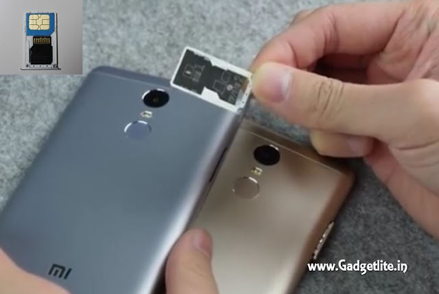 Redmi Note 3 pro, MicroSD Slot