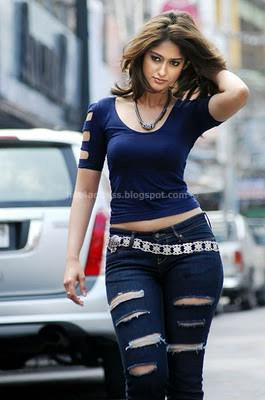 Ileana in modern jeans photos