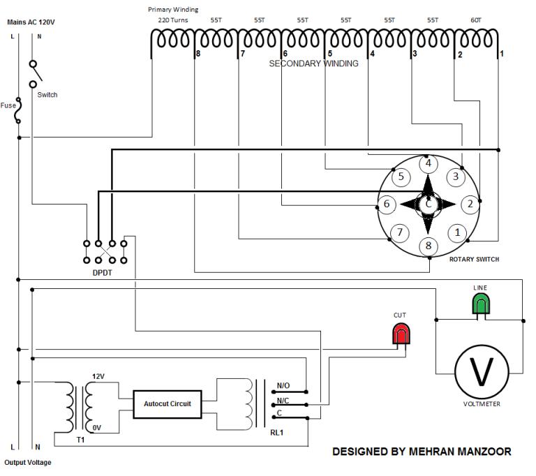 automatic voltage regulator avr circuit. Black Bedroom Furniture Sets. Home Design Ideas