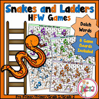 Snakes and Ladders Dolch HFW