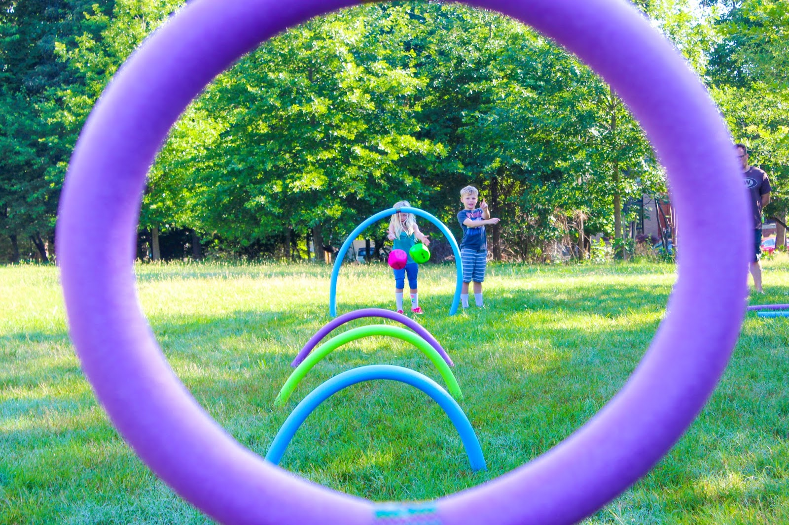 Not So Sahm Diy Outdoor Obstacle Course