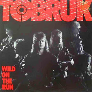 Tobruk Wild on the run 1985 aor melodic rock music blogspot full albums bands lyrics