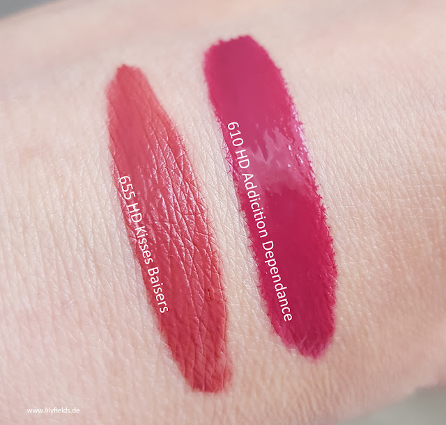 Revlon - Ultra HD Matte Lipcolor - Swatches