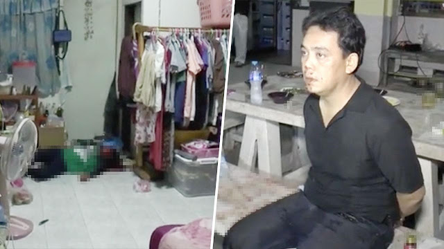 Photos: Jealous man slashes estranged wife to death after she refused to get back with him