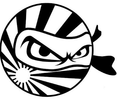 Gambar Stiker Motor Lucu Keren Terbaru Stripping Ninja Matahari Gokil