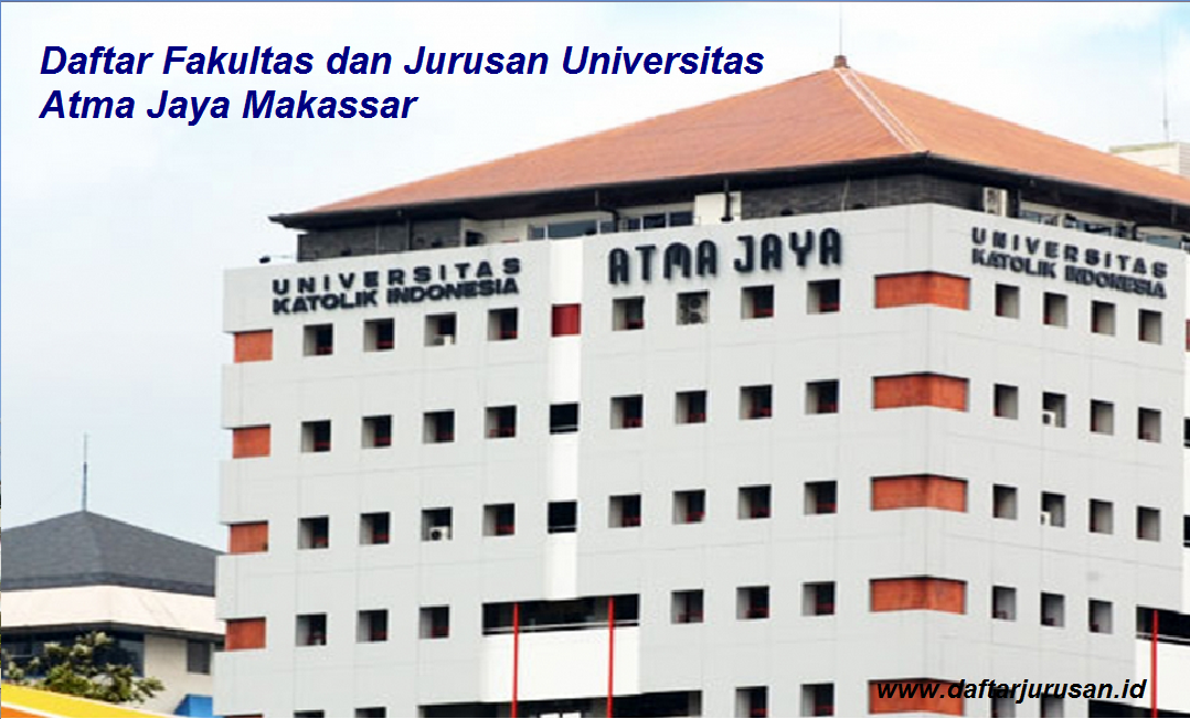 Daftar Fakultas dan Jurusan UAJM Universitas Atma Jaya Makassar