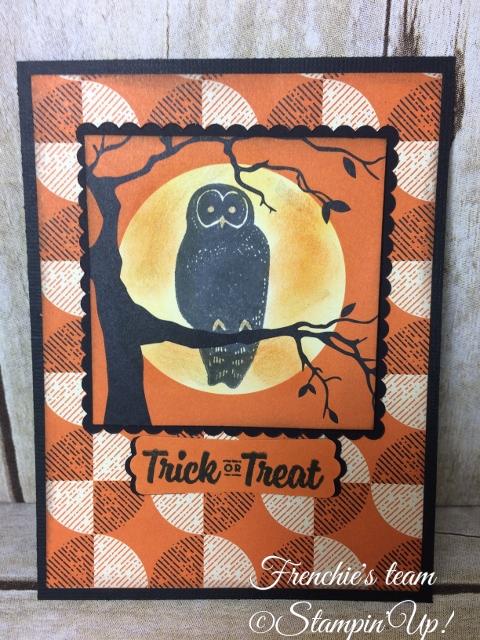 Spooky Cat, Designer Paper Spooky Night , Stampin'Up!