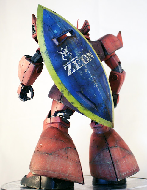 back view Gelgoog MS-14S Char aznable