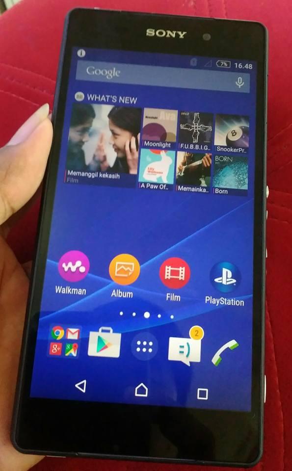 Sony Xperia Z2 Bekas
