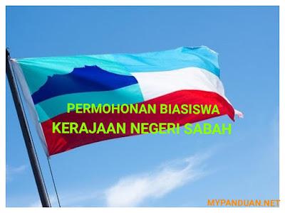 Permohonan Biasiswa Kerajaan Negeri Sabah BKNS 2018 Online