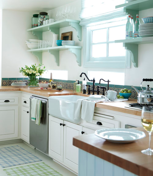 Cottage Kitchen Cabinets: Cottage Certain Ideas For A Yellow Kitchen