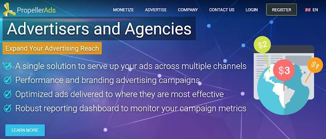 Cara Daftar dan Pasang Iklan Propeller Ads Panduan Terlengkap