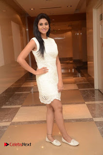 Shamili Pictures in White Short Dress at Trendz 101 Exhibition Celebrations Curtain Raiser ~ Celebs Next