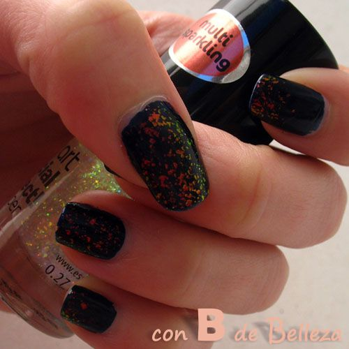Top coat Multi sparkling