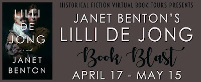 Book Blast: Lilli de Jong by Janet Benton #LillideJongBookBlast