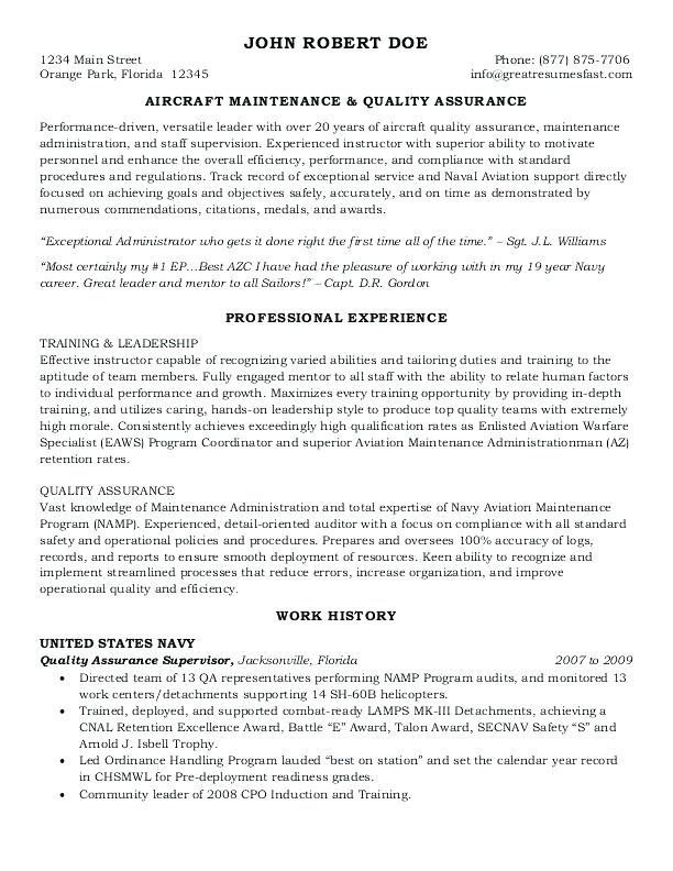 government resume writers 2019