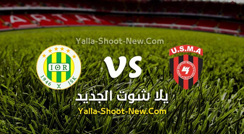 مباراة إتحاد الجزائر وشبيبة القبائل