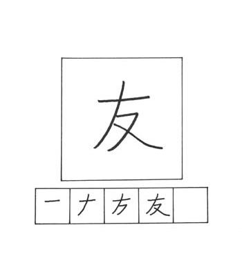 kanji teman