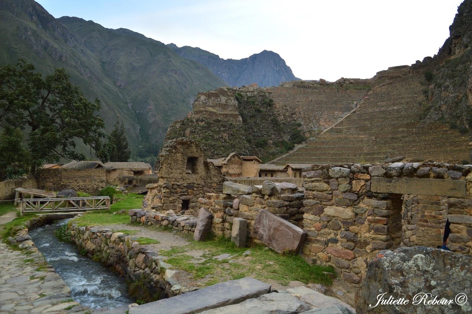 Forteresse Inca d'Ollantaytambo, Pérou, Vallée Sacrée