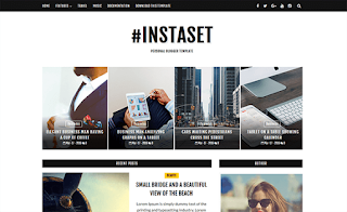 Instaset List Blogger Template