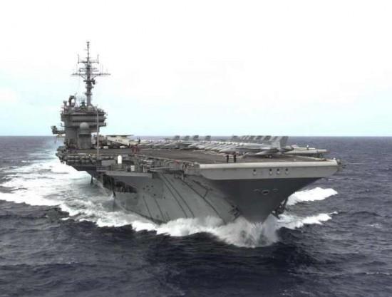 Melalui Perairan Natuna, Kapal Induk Amerika Ke Laut China Selatan