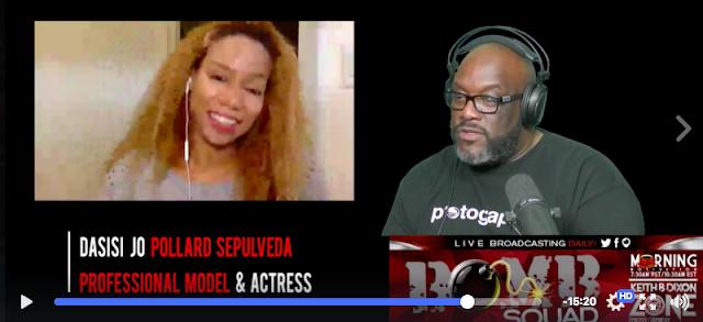 Daisi Jo Pollard Sepulveda Livestream Interview with Photographer, Keith B. Dixon