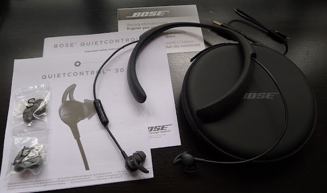 Bose QuietControl 30 (Bose QC30) Packaging Contents