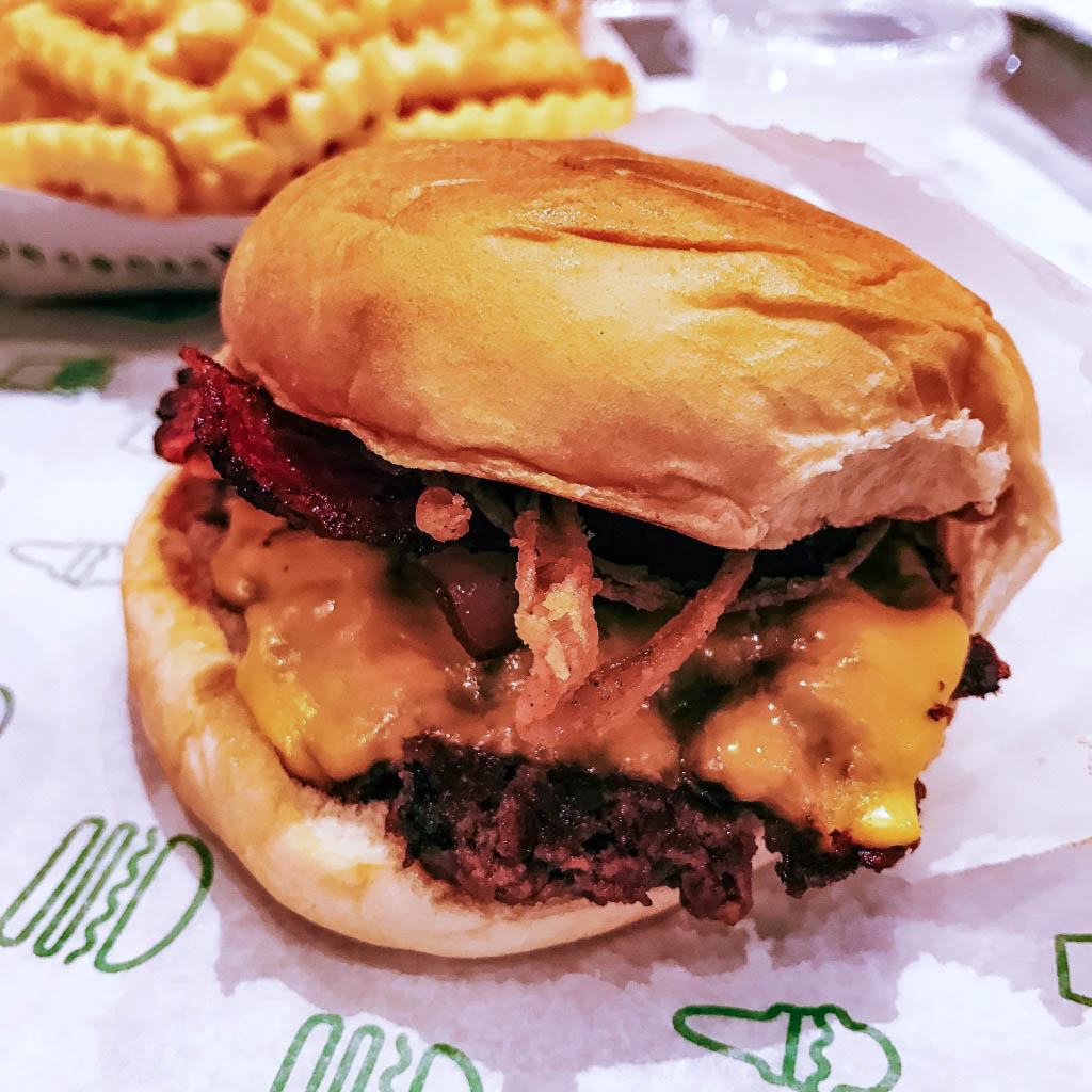 Shake Shack burger London