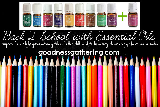 Back2School with Essential Oils