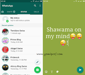 Whatsapp%2Btext - WhatsApp Latest Update: Text-based Status Updates Made Available