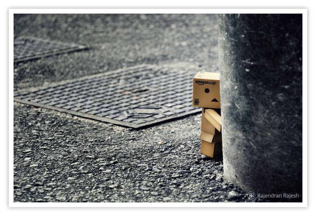 Mystery Wallpaper: Danbo Alone | Chainimage