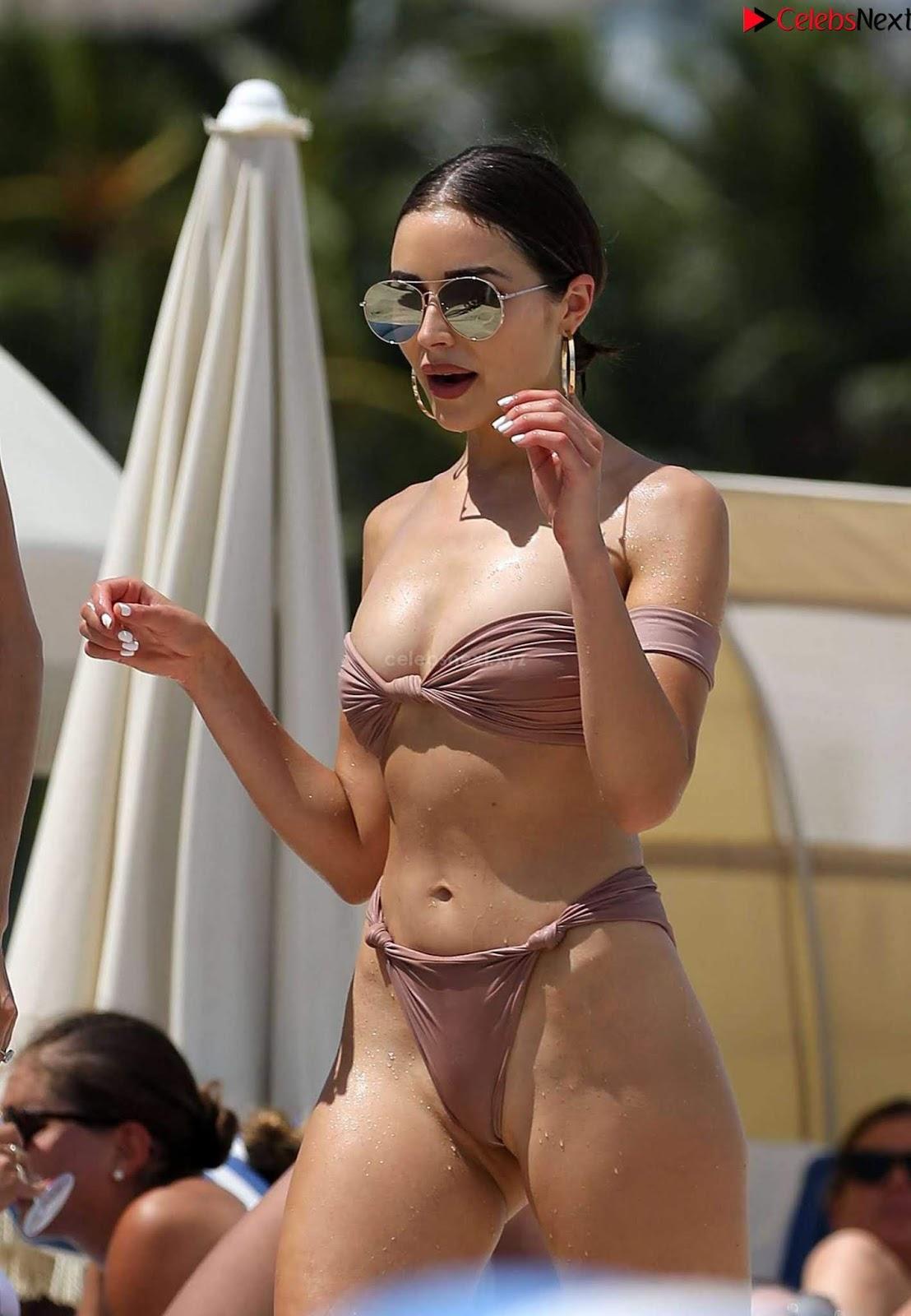 Olivia Culpo sexy smooth ass in Bikini September 2018
