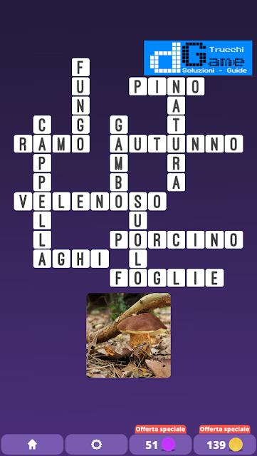 Soluzioni One Clue Crossword livello 22 schemi 11 (Cruciverba illustrato)  | Parole e foto