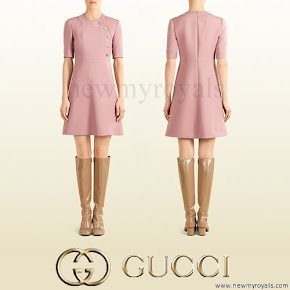 Countess Sophie wore GUCCI Wool Dress