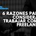 6 razones para considerar trabajar como freelance