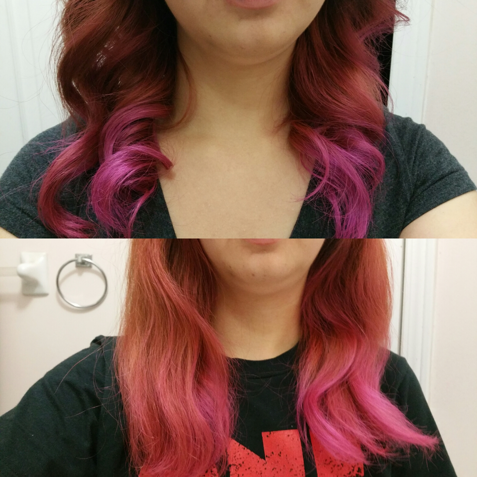 Hair Color Oops And Splat Pink Petals